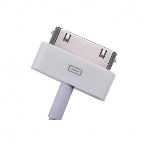 Baseus, Kaabel, juhe USB - Apple 30-pin, 1.2m, iPhone, iPad - Valge