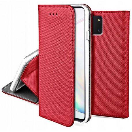 Magnet, Kaaned Samsung Galaxy Note 10 Lite, A81, N770, 2020 - Punane