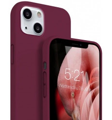 "Silicon, Ümbris Apple iPhone 13, 6.1"" 2021 - Burgundy"