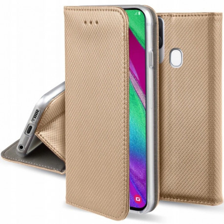 Magnet, Kaaned Samsung Galaxy A20e, A202, 2019 - Kuld