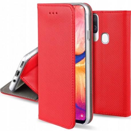 Magnet, Kaaned Samsung Galaxy A20e, A202, 2019 - Punane