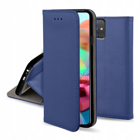Magnet, Kaaned Samsung Galaxy A71, A715, 2019 - Sinine