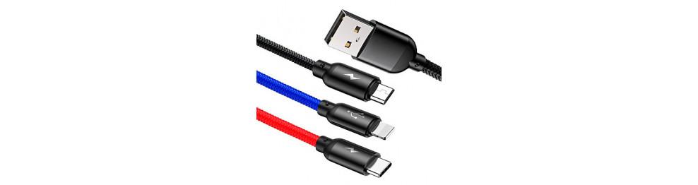 USB kaablid, juhtmed